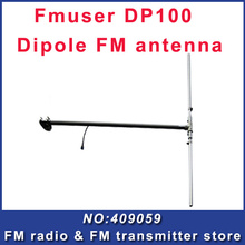 DP100 Dipole antenna for radio station 0-300W fm broadcast transmitter equipment 1/2 wave outdoor fm antenna(China)