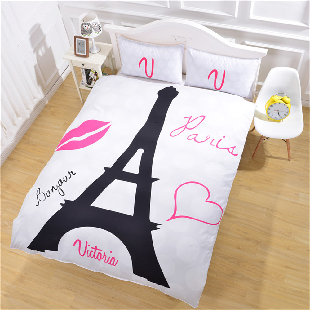 Eiffel Tower Bedding (1)