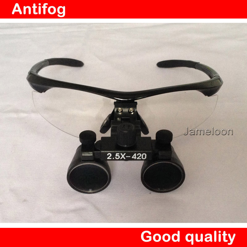 HOT SALE!! 2.5X Magnify Binocular Medical Use Dental Magnifier Adjustable Surgical Loupes with optical glass<br>