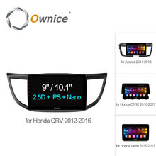 "Ownice C500+ 10.1"" HD Android 6.0 Octa 8 Core  Car radio player GPS Navi for HONDA 2012 - 2016 2017 Vezel CIVIC Accord CRV 32G"