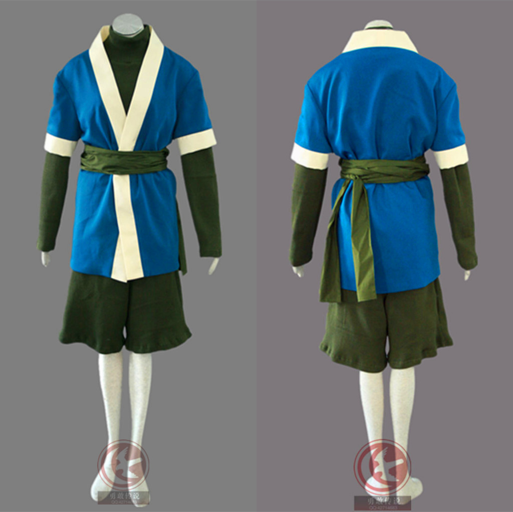 Young Haku Cosplay Costume From Naruto Shippuden Anime