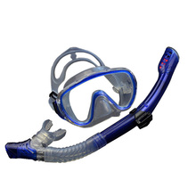 2017 Professional Diving Mask Anti-Fog Goggles Silicone Scuba Snorkel Spearfishing/diving Pipe Swimming Pool Easybreath Aqualung