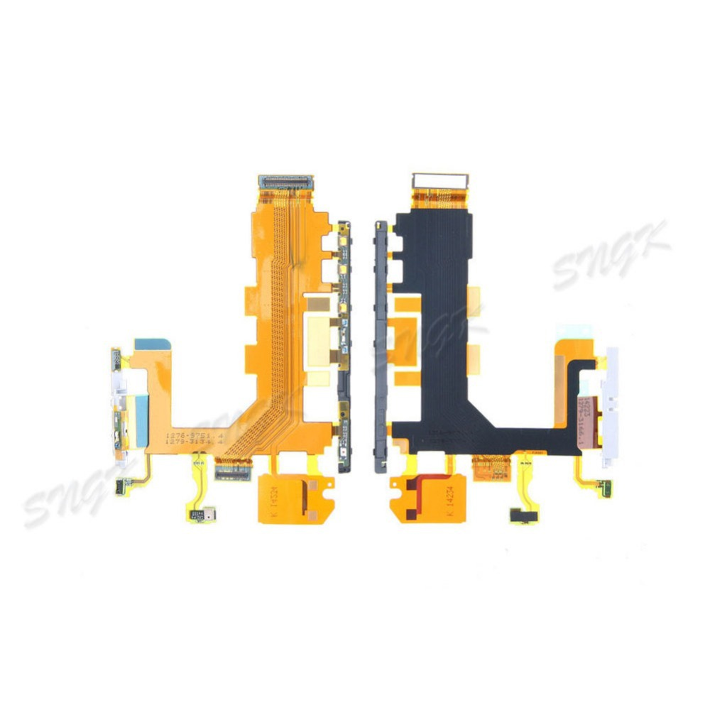 for Sony Xperia Z2 L50W Power Button / Volume Switch Flex Cable / Microphone Replacement D6502 D6503 D6543 Repair Parts(China)