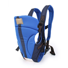 Fashion Bavy Carrier Backpack Front Opening Breathable Sling For 3-24 Months Baby(China)