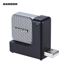SAMSON Go Mic Direct Super Mini Condenser Recording USB Microphone Plug-and-Play with Carrying Case for Mac Laptop