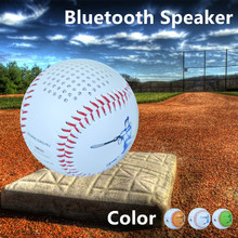 Real size Baseball Sports Bluetooth Speaker 600mAh battery portable home theater phone audio player USB charge and line in music
