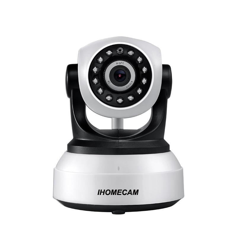 IHOMECAM HZ608 Onvif 2.0 Wireless IP Camera Wifi HD 720P Security Surveillance CCTV Network P2P Support 128G SD Card Infrared IR<br>