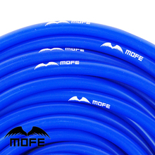Silicone vacuum hose MOFE car styling 10 meter 6mm four colors(China)