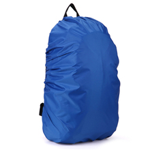 35L Solid Color Backpack Rain Cover Rain Resist Cover Mountaineering Bag Backpack Hiking Camping Waterproof Bag Cover 8Colors(China)