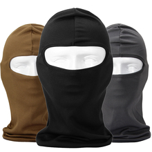 New Windproof Face Mask Quick-Drying Combat Breathable Anti UV Motorcycle Wargame Tactical Balaclava Hat Cap Winter