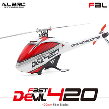 Original RC Helicopter Devil 420 FAST Flybarless Belt Drive 6CH 3D Helicopter KIT Set ALZRC Remote Control Toy