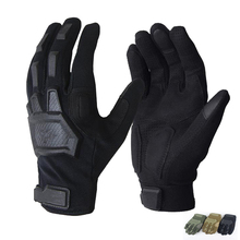 Tactical Gloves Men Outdoor Military Special Forces Full Finger Gloves Antiskid Bicycle Gloves Wearable Gym Touch Screen Gloves