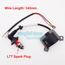 Performance Ignition Coil & Spark Plug L7T For 33cc 43cc 49cc Goped Scooter Mini Moto Super Pocket Bike Motorcycle