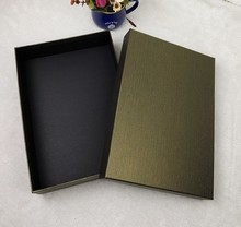 medium paper box of high quality for gifts packing, 37*27*10cm, logo printing is available