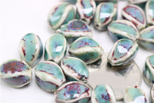 ceramic diy beads shaped beads scattered beads more color glaze bead TP3103