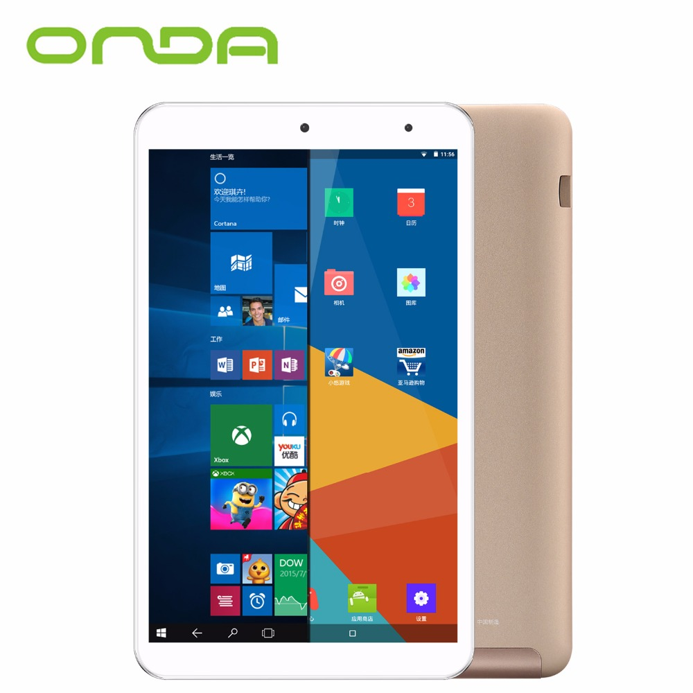 Onda V80 Plus Dual OS Tablet 8 inch 2GB RAM 32GB ROM IPS Screen Intel Z8350 64bit Dual Cameras Windows 10 Android 5.1 Tablet PC(China (Mainland))