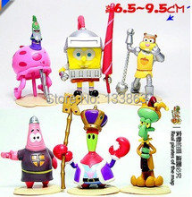 small bob sponge doll pink Patrick Star yellow sponge bob & square pants toys figure for boy birthday gift ,children's dolls