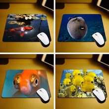 MaiYaCa Fish Rubber Soft Gaming Mouse Games Black Mouse pad 18*22cm and 25*29cm