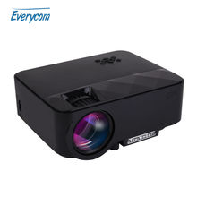 TouYinger Q7 Mini portable LED Projector 1500 Lumens LCD Home theater Support 1920*1080 Full HD video VGA HDMI USB SD Proyector
