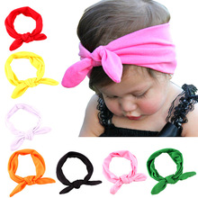Creative Girls Solid Color Headbands Newborn Infant Hair Accessories Children Elastic Hair Bands Kids Headwear Baby Headdress(China)