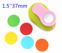 3.5cm DIY Paper Printing Card Cutter Scrapbook Shaper Large-scale Embossing device Hole Punch Kids Handmade Craft gift YH16(China)