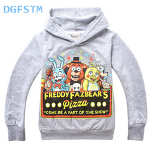 Buy DGFSTM 6 13Years Five Nights Freddys FNaF Clothing Children Kid Tees Boys Girl Long Sleeve T Shirts Outerwear Child Shirts for $6.74 in AliExpress store