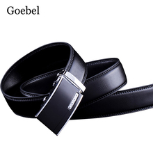 Buy Goebel Embossed Black Belts Men Alloy Automatic Buckle Solid Color Man Business Belts PU Leather Fashion Male Brand Belts for $3.99 in AliExpress store