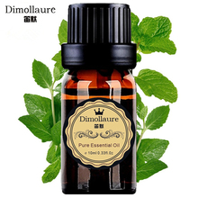 Dimollaure Mint Essential Oil Refreshing air Inspiring spirit helpful to colds Aromatherapy Fragrance lamp essential oil(China)
