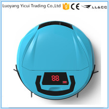 Free shipping Rechargeable vacuum cleaner robot price lower(China)