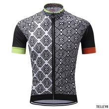 teleyi Cycling Outdoor Short Sleeve Jersey Cycling Jersey Comfortable Breathable Shirts Tops Sportswear Breathable Quick Dry