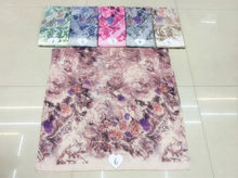 2016the new hot sell,TR cotton gorgeous flowers wind fashion printed scarf comfortable Ms Muslim headscarves Independent packing
