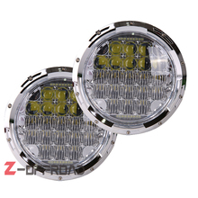 "7inch 126W Led Headlight replacement bulb 7"" Hi/Lo beam Lighting projector daymaker head lamp"