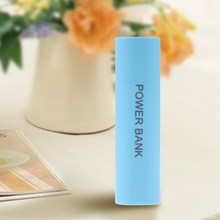 Portable DC 5V USB DIY Power Bank Mobile 1x 18650 Battery Charger Case Box Blue
