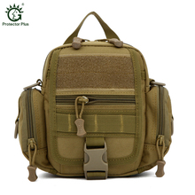 Men Outdoor Military Messenger Bag USA Advance Defense Ultra light Molle Tactical Bag Sport Travel Hiking Men Messenger Bags(China)