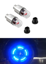 1pcs Motor Cycling Bike Tyre Tire Valve Waterproof LED Car Bicycle Wheel Lights