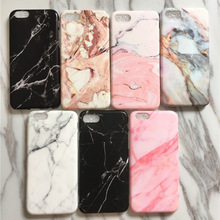 Fashion Marble Case for iPhone 7 / 7 plus Soft Silicone TPU Case for iPhone 6 6s 6plus Phone Case IMD Printed Never Fade