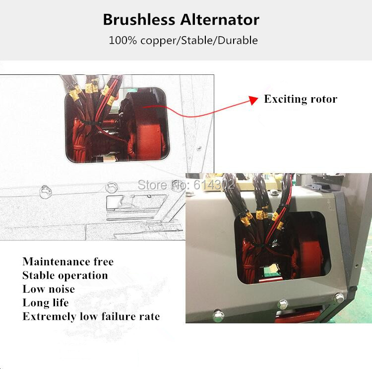 brushless alternator infor