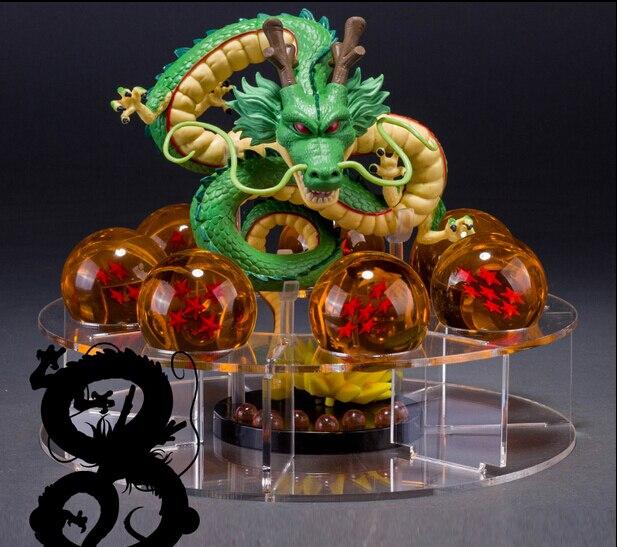 Dragon Ball Z Action Figures Shenron With Shelf And Balls Anime Pvc Dragonball Z Figures DBZ Toys Esferas Del Dragon DBZ<br><br>Aliexpress