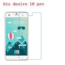 3 PCS HD phone film PE touch preserving eyesight for HTC desire 10 pro screen protector +Wipe wipes