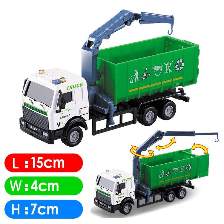 25 rodzaje samochody zabawki Diecast mini stop pojazd budowlany inżynierii samochód wywrotka samochód wywrotka model ciężarówki klasyczne zabawki prezent dla chłopca -