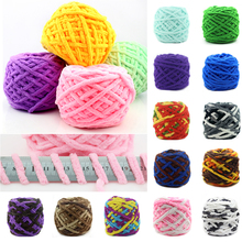 WITUSE 1PC Promotion! DIY Knitting Crochet Woolen Cotton Yarn Xmas Gift Gloves 23 Colors 100g/Ball(China)