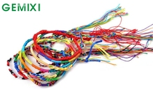 Bling-World 20Pcs Wholesale Jewelry Lot Braid Strands Friendship Cords Handmade Bracelets Delicate