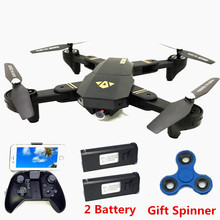 VISUO XS809W XS809HW Air Selfie Drone With WIFI FPV Camera Foldable RC Quadcopter Phone Control Helicopter Wifi Mini Dron VS H37