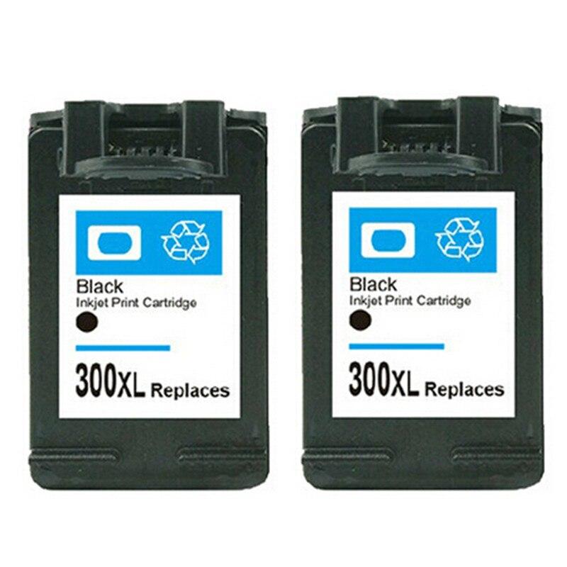 2PK  for HP300 300XL black printer ink cartridge  for HP DeskjetC4680 C4780 D1660 D2660 ink jet printer  Real Hot<br><br>Aliexpress
