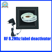 EAS 8.2Mhz soft label deactivator,RF security label deactivator for supermarket and retail store anti theft system