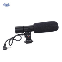 Oversea Stock Sidande Mic-01 3.5mm Recording Microphone Digital SLR Camera Stereo Microphone for Canon Nikon Pentax Olympus(China)