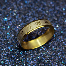 Free Shipping Titanium Vintage Decorative Pattern Ring 316L Stainless Steel Rings For Women Wedding Rings Fine Jewelry nj114