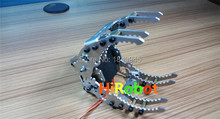 Full Metal Robotic CL-6 Claw/Gripper,Robot Mechanical Claw,Compatible with MG996R etc. servo, for Robot hand Design, DIY