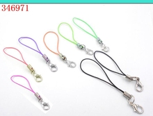 jewelry accessories Making Lariat Lanyard mobile straps DIY Hang Rope cell phone keychain Charm Lobster Clasp