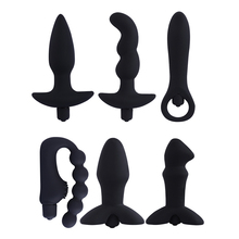 Buy Waterproof 10 Speeds Prostate Massager Silicone Female Vibrator Masterbator Anal Butt Plug G-Spot Dildo Gay Anal Sex Toy Men